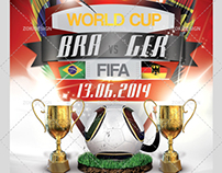 World Cup 2014 Flyer