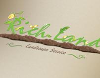 RichLand Landscape Service Logo