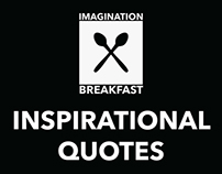 Imagionation for Breakfast - Inspirational Quotes