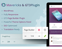 Mavericks - Business & Portfolio WordPress Theme