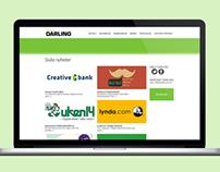 Webdesign for www.darling.no