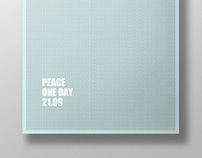 Plakatentwürfe - peace one day
