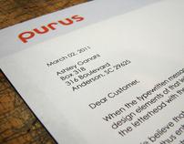 Purus Letterhead System