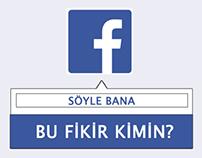 Facebook Sahibini Tanıma Özelliği