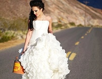 Bridal Fashion Editorial Portfolio Shoot