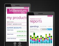 Bank Millennium - Windows Phone 8 app