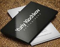 Yury Klochkov - photographer logo