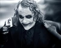 Digital Paint - The Joker