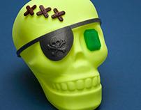 Halloween Skull Playset