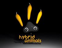 """""""Hybrid Animals"""" animated logo"""