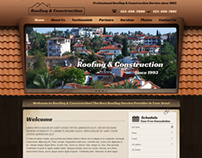Roofing and Construction Responsive Wordpress Template