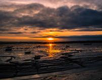 Old Leigh Evening Sun