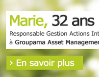 GROUPAMA GAN RECRUTE - Corporate Web Design
