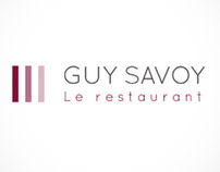 GUY SAVOY - iPad Web design