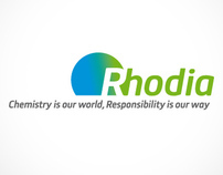 RHODIA - Web design