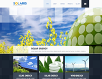 Solaris Solar Energy Responsive Wordpress Template