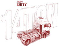 Heavy Duty - automotive illustration