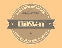 Freshly designed Diil&Van logo