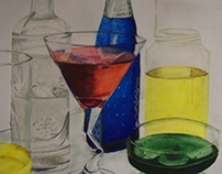 Still Life in Watercolor
