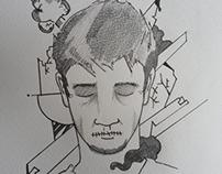 Untold Sadness Doodle