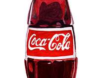 Coca Cola Bottle Illustrations