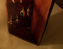 Earring stand with plywood- Crash assignment