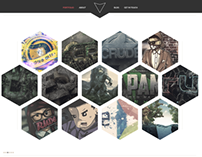 "Minimal Portfolio Web Design ""eRa"""