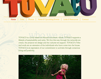 Tovaco website mockup