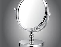 Shiny Make-Up Mirror