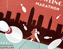 Cleveland Tango Bowling Marathon Poster