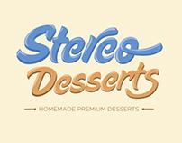 Menu for Stereo Desserts