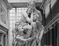 At The Met (Ugolino and His Sons)