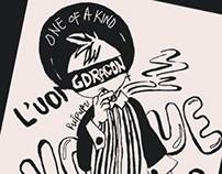 G DRAGON L'UOMO VOGUE DOODLE