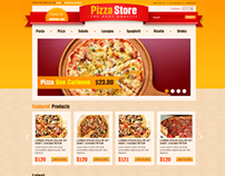 Pizza Store OpenCart Theme