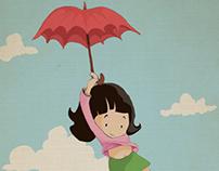 Uçan Şemsiye / Poster