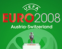 EURO2008 Wall Chart