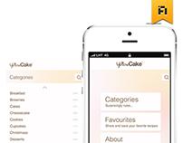 Yellow Cake App