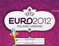 EURO2012 Wall Chart