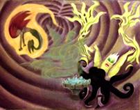 The Little Mermaid pastel series