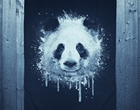 Watercolor Panda Portrait! @threadless
