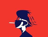 Duotone Illustration