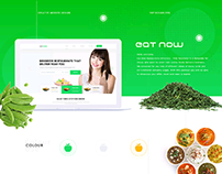 Eat Now Restaurants Directory - PSD