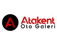 Atakent Oto galeri Logo çalışması - Pienart