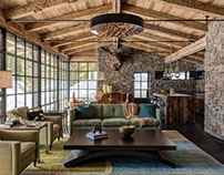 Camp Run-A-Muck Cabin by Pearson Design Group