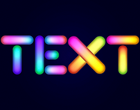 Glowing Text Adobe Illustrator Tutorial