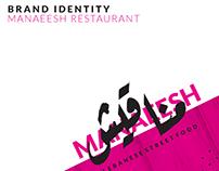 Manaeesh Restaurant - Brand Identity