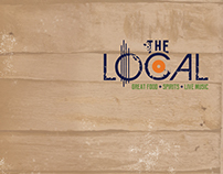 The Local of Boone (Menu Design)