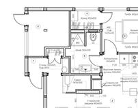 Рабочая часть. Дизайн- проекта жилого дома