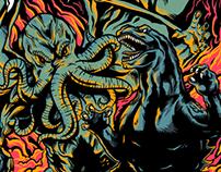 Godzilla vs. Cthulhu Shirt