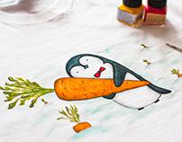 penguin&carrot